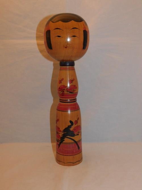 こけし人形 Kokeshi doll(Katsushi  Kobon signature)