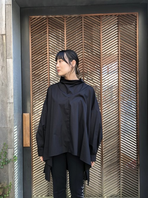 【20AW】 ENFOLD エンフォルド / Stand neck Blouse
