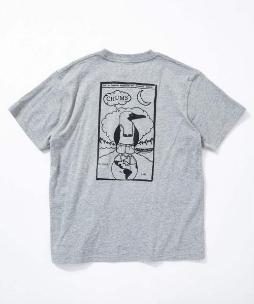 CHUMS(チャムス)Retainer Booby T-Shirt(リテイナーブービーTシャツ) CH01-1480 グレー