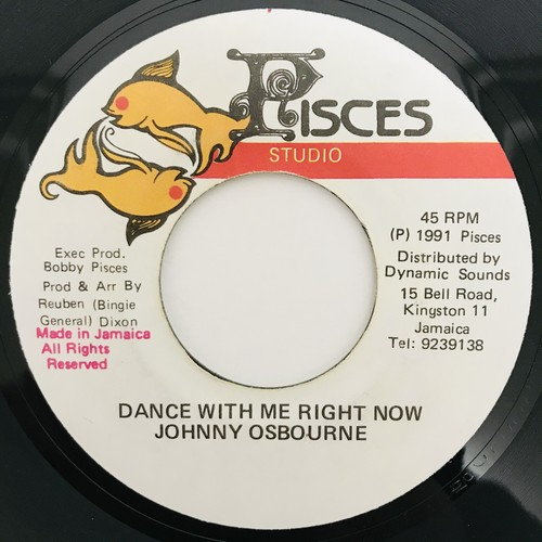 Johnny Osbourne - Dance With Me Right Now【7-11018】