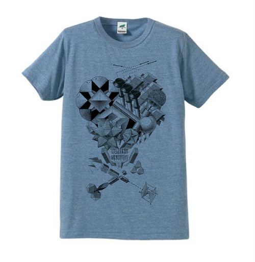 Bitch Skull TEE - Blue