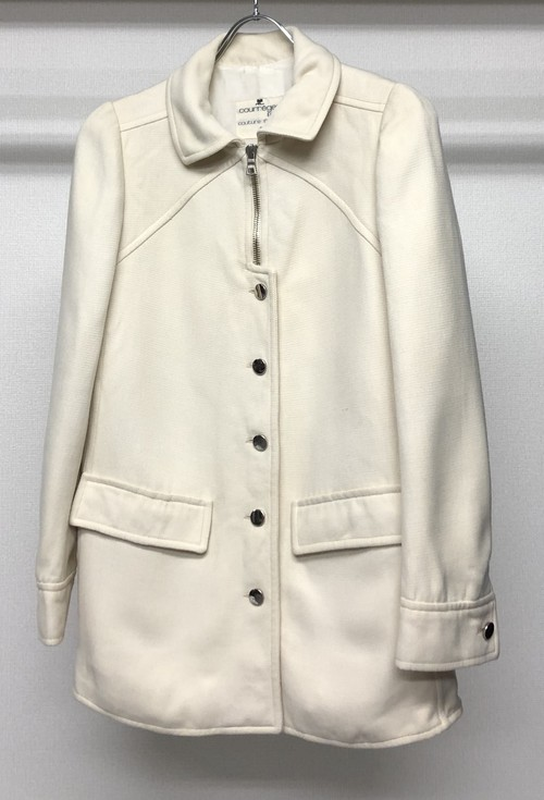 1960s COURREGES COUTURE FUTURE  TAILORED JACKET
