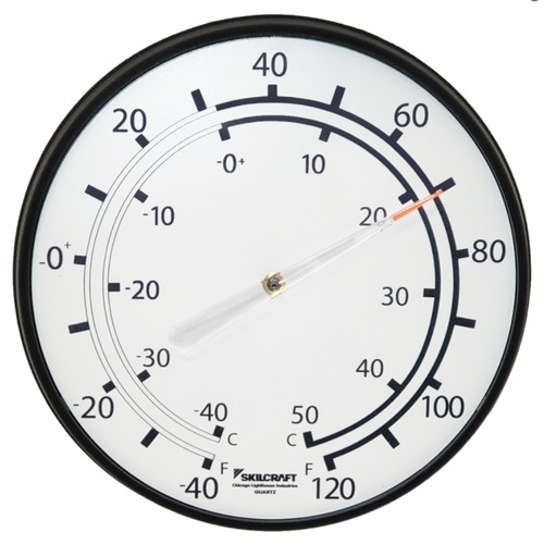 "CHICAGO LIGHTHOUSE 12.75"" SKILCRAFT®温度計"