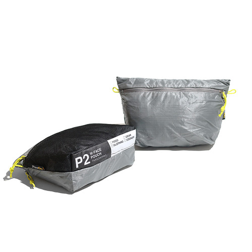 PAAGO WORKS W-FACE POUCH 3(グレー)
