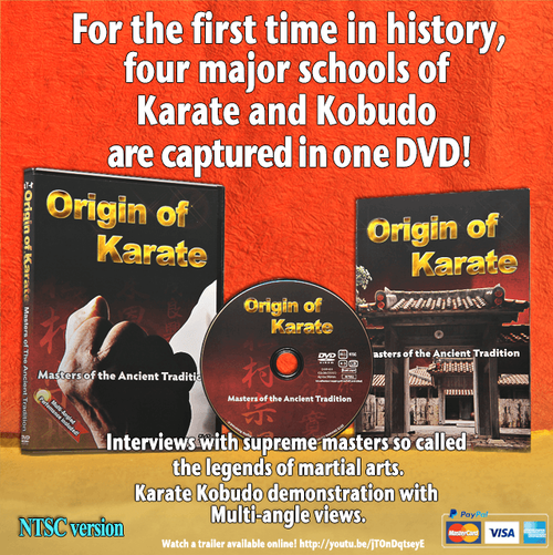 Origin of Karate (NTSC English) On this shop ALL English version are not available. However, you can purcahse from the Direct Store in Our Official site!! So visit URL http://www.okinawakarate.jp/#!shvclab/c1373