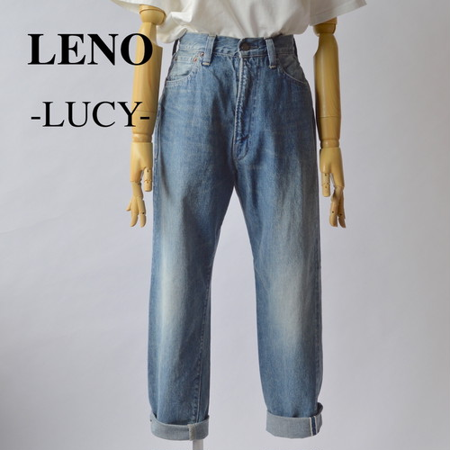 """LENO/リノ・""""LUCY"""" HIGH WAIST TAPERED JEANS -FADE INDIGO-"""