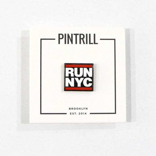 【PINTRILL】RUN NYC Pin