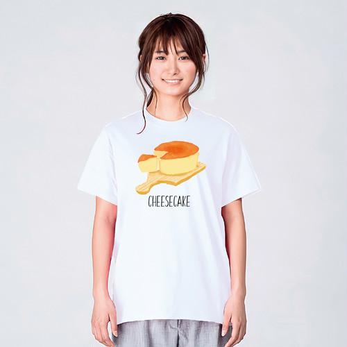 チーズケーキ Tシャツ メンズ レディース 半袖 大きいサイズ