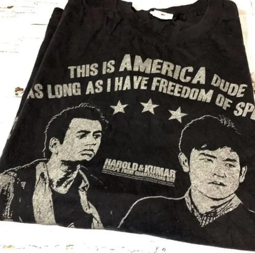 Tシャツ メンズ USA 古着 ハロルド&クマール ムービーT 映画 コメディ