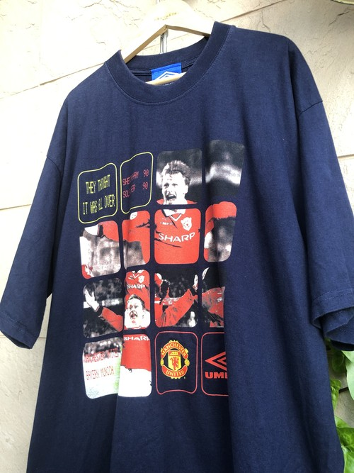 1998/99 MANCHESTER UNITED Champions league final T-shirt