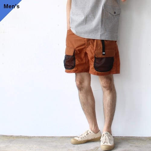 ENDS and MEANS エンズアンドミーンズ Utility Shorts EM-ST-P09 (Brick brown)