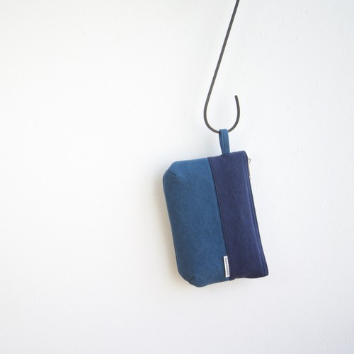 CANVAS FLAT POUCH S / NV×RB