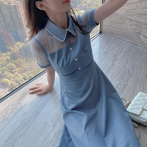 【dress】おしゃれ!ファッション切り替え デートワンピース合わせやすい