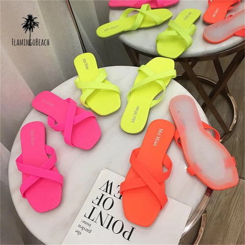 【FlamingoBeach】neon sandals ネオンサンダル 44690