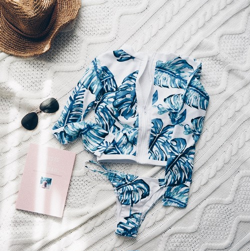 【即納】Heather's Swimsuit《TURQUOISE》