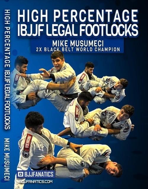 マイキー・ムスメシ IBJJF(柔術)ルールで高確率で使えるフットロック集  DVD4枚セット|ブラジリアン柔術テクニック教則