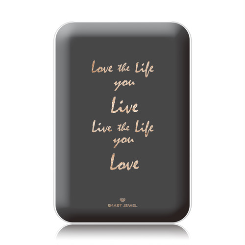 Smart Jewel-Mobile Battery 5000mAh-Message-Love the life