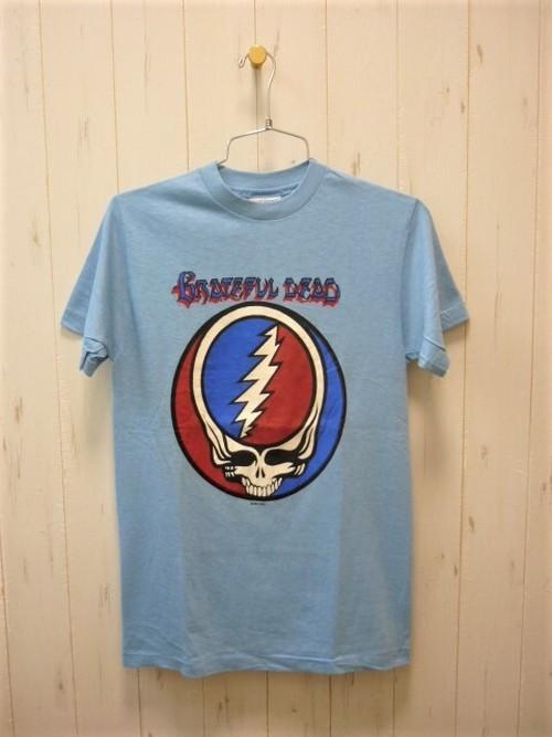 Grateful Dead Steal Your Face T-Shirt 80's/Dead Stock (グレイトフルデッド スチールユアフェイス 80's/デッドストック・未使用)