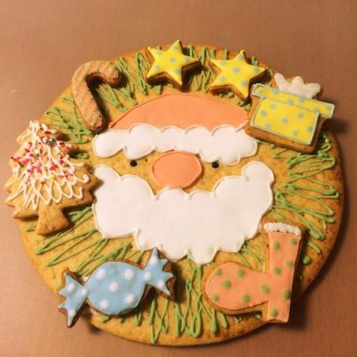 Xmasリース クッキー