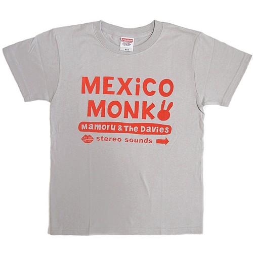 MEXiCO MONK Tシャツ (ミックスグレー)