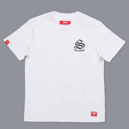 SCRAMBLE INNER CITY JIU-JITSU Tシャツ – ホワイト