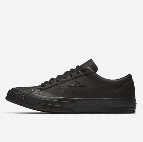 US企画 Engineered Garments x Converse One Star Leather Low Top Shoe Black