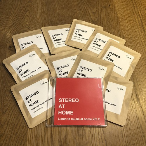 STEREO AT HOME Vol.2 ドリップバッグ10個セット STEREOコンパイルCD付