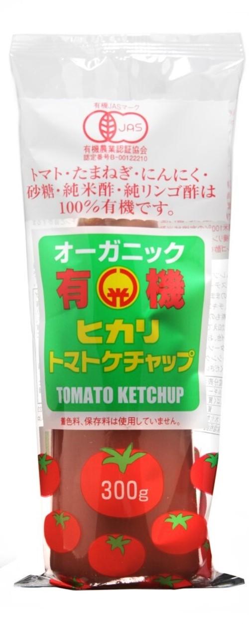 ヒカリ有機トマトケチャップ(300g)