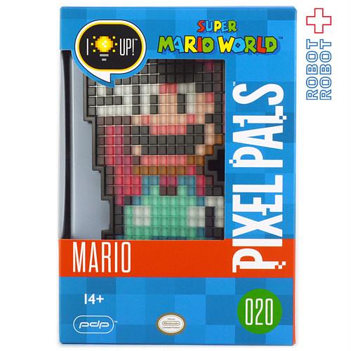 Pdp PIXEL PALS スーパーマリオ マリオ ライトアップフィギュア