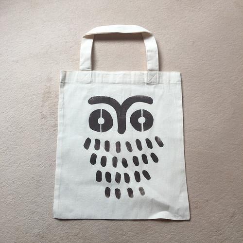 エコバッグ / ふくろう(ILA. STENCIL design)