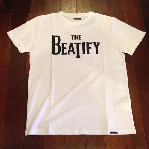 "SUNNY SPORTS/サニースポーツ | 【特価 SALE!!!】 "" BEATIFY "" Tee - white"