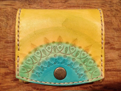 coin case gradetion mandala #yellow