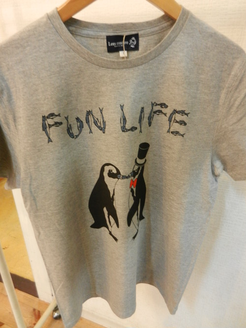 Lensconcave FUN LIFE Tee(ラバープリント)
