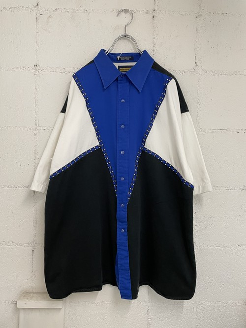 【USED】切り替えシャツ