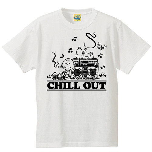 [CHILL OUT] T-shirt / White