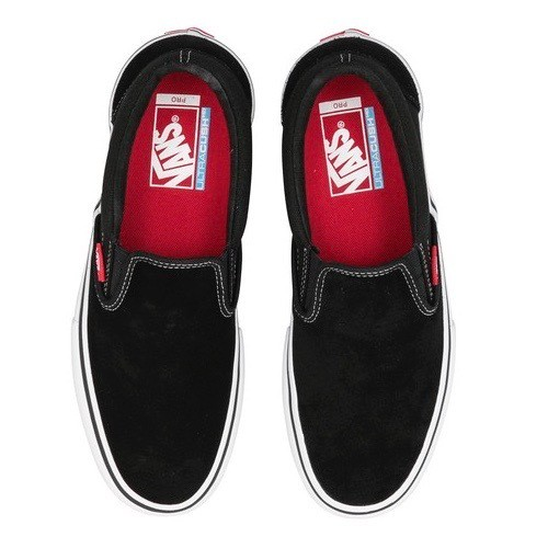 VANS / SLIP-ON PRO -BLACK/WHITE/GUM
