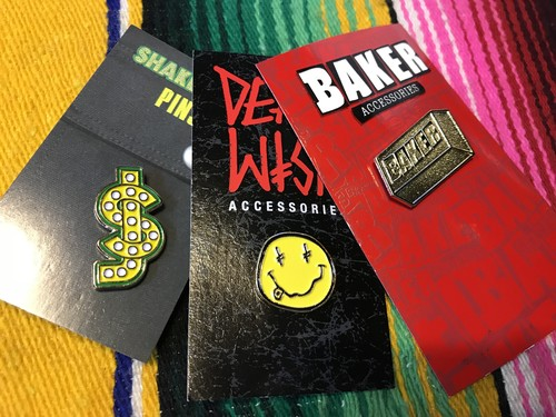 【お得なピンズセット】BAKER DEATHWISH SHAKEJUNT PINS