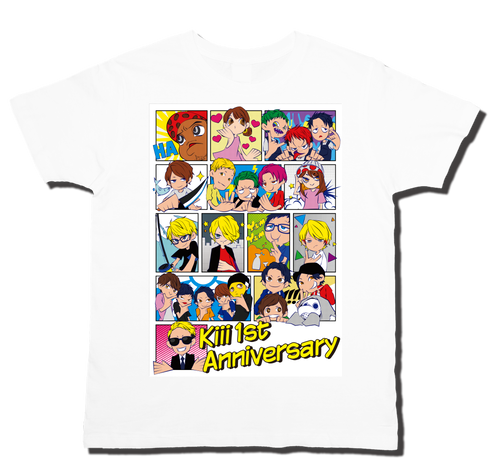 Kiii 1st Anniversary Party Tシャツ