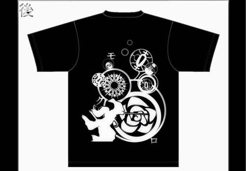 第5回本公演モノクロ 公演Tシャツ