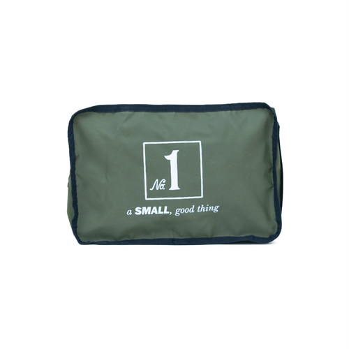 No.1 Travel Pouch (Print) Khaki LO-STN-PC01
