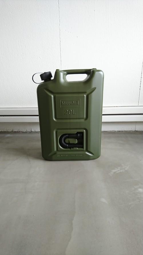 【G011】 FUEL CAN PRO 20L フューエルカン プロ ウォータータンク 燃料 給水 タンク キャンプ