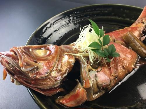 トロ金目鯛の煮つけ