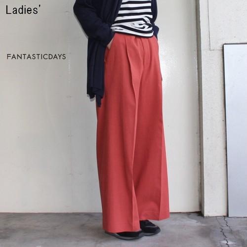 FANTASTICDAYS  バギーパンツ BAGGY-81-01 (ORANGE RED)