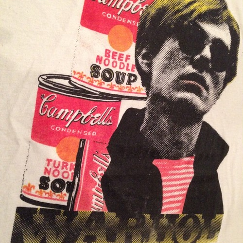 Vintage 80s ANDY WARHOL × Campbell's SOUP Tee