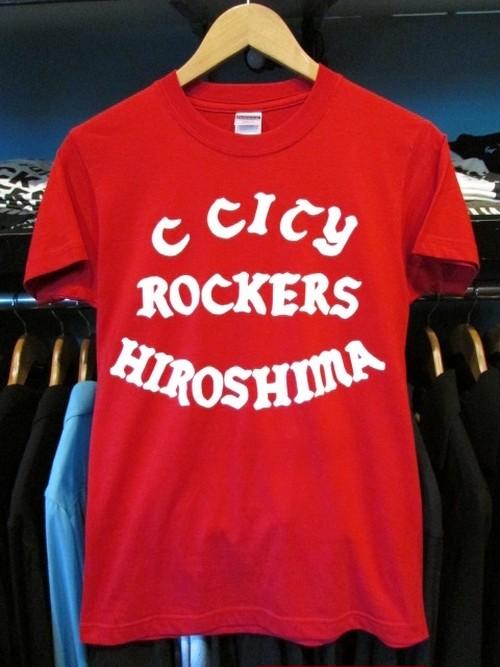 S/STシャツ CARP CITY ROCKERS HIROSHIMA THE COLTS 25th Anniversary Version