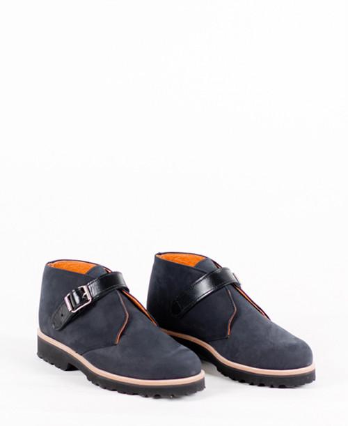 Deux Souliers (MEN) - Desert #2 Black スウェード・デザート・シューズ (ブラック) 【スペイン】【靴】【シューズ】【インポート】【VOGUE】