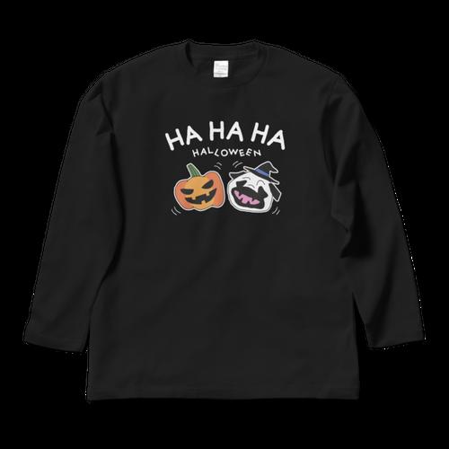 ハロウィンロングスリーブTシャツJack(黒)LTH-UB1J