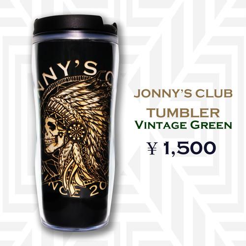 JONNY'S CLUB タンブラー<ヴィンテージグリーン>