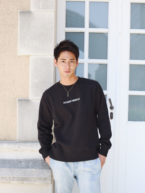 HOLIDAY NEWOLD SWEAT(Black)