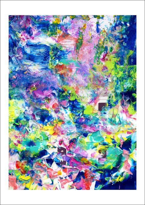 アート・インクジェットプリント(42.0cm×59.4cm) -Elemental Forest-